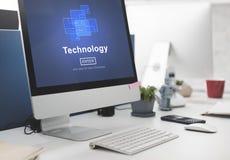Technology Innovation Digital Evolution Homepage Concept Royalty Free Stock Photo