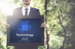 Technology Innovation Digital Evolution Homepage Concept Royalty Free Stock Photography