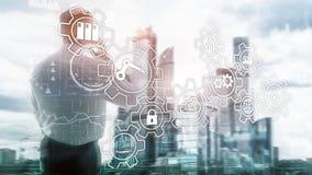 Technology innovation and process automation. Smart industry 4.0. Technology innovation and process automation. Smart industry 4.0 stock images