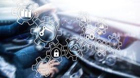 Technology innovation and process automation. Smart industry 4.0. Technology innovation and process automation. Smart industry 4.0 stock photo
