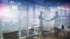 Technology innovation and process automation. Smart industry 4.0. Technology innovation and process automation. Smart industry 4.0 stock photos