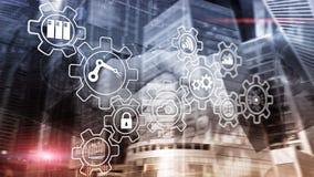 Technology innovation and process automation. Smart industry 4.0. Technology innovation and process automation. Smart industry 4.0 stock photography