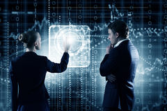 Technology innovations Royalty Free Stock Photos