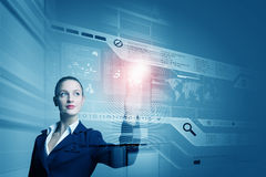 Technology innovations Royalty Free Stock Images