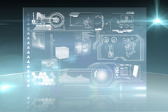 Technology interface Royalty Free Stock Image