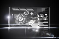 Technology interface Stock Image