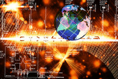 The technology Internet Royalty Free Stock Photos