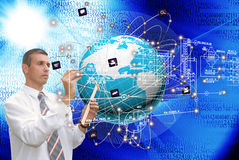 The technology Internet Royalty Free Stock Photo