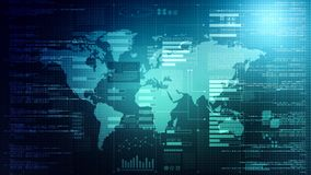 Internet data processing background stock images