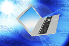 The technology Internet. Modern innovation compiting technology.Globalization Royalty Free Stock Photo