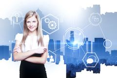 Technology and investment concept Stock Images