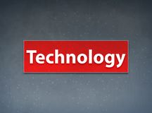 Technology Red Banner Abstract Background royalty free illustration