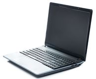 Technology. Laptop on a white background Stock Photo