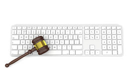 Technology and law Stock Image