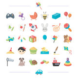 Technology, leisure, business and other web icon. Technology, leisure, business and other  icon in cartoon style. car, toys, entertainment, icons in set Royalty Free Stock Photo
