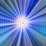 Technology light rays Royalty Free Stock Photo