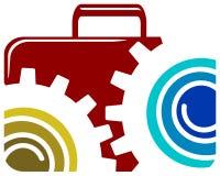 Technology logo Royalty Free Stock Image