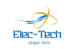 Technology Logo Design. Logo Design for Pc Technical and support, Technology field used vector illustration