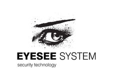 Technology Logo Design. Logo Design for Security systems and Vision correction, Business and Technology field used vector illustration