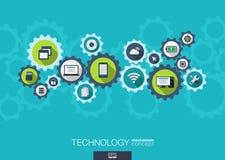 Technology mechanism concept.  Stock Photos