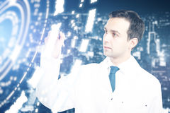 Technology in medicine concept Royalty Free Stock Photo