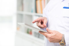 Technology in medicine Stock Image