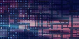 Technology Network vector illustration