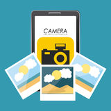 Technology and networking design Royalty Free Stock Images