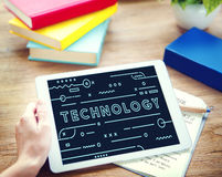 Technology Online Electronic Devices Graphic Concept Stock Images