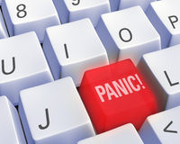 Technology - Panic! Stock Photo