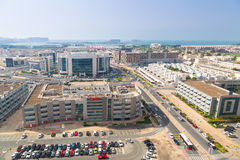 Technology park of Dubai Internet City Stock Image