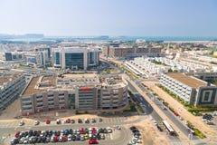 Technology park of Dubai Internet City Stock Image