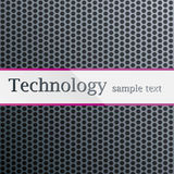 Technology pattern. Metal perforated purple Royalty Free Stock Image