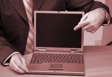 Technology presentation Royalty Free Stock Photos