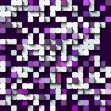 Technology seamless pattern of squares. Stock Photo