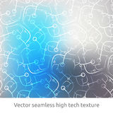 Technology seamless pattern Royalty Free Stock Photography