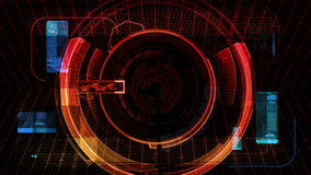 Technology Security Scan Display Screen (4K)