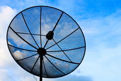 Technology on sky Stock Photography