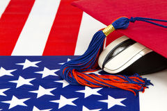Technology Smart Education in America Stock Photography