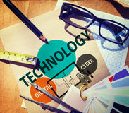 Technology Social Media Networking Online Digital Concept Royalty Free Stock Photo