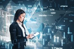 Technology and software concept stock photo