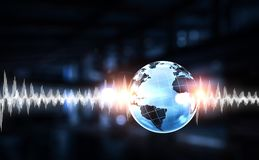 Technology of sound royalty free stock photo