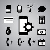 Technology symbol Stock Images