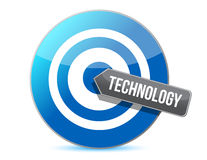 Technology target Stock Photography
