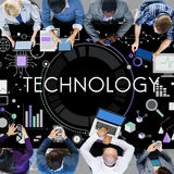 Technology Tech Digital Evolution Internet Data Concept Stock Photos