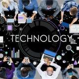 Technology Tech Digital Evolution Internet Data Concept Stock Photos