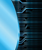 Technology theme background Stock Image