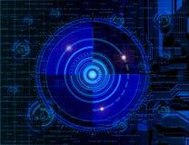 Technology theme background Royalty Free Stock Photography