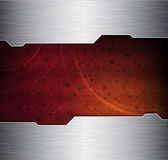 Technology theme banner Royalty Free Stock Image