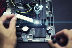 Technology to speed up computer, Experts are installing speed devices on motherboard